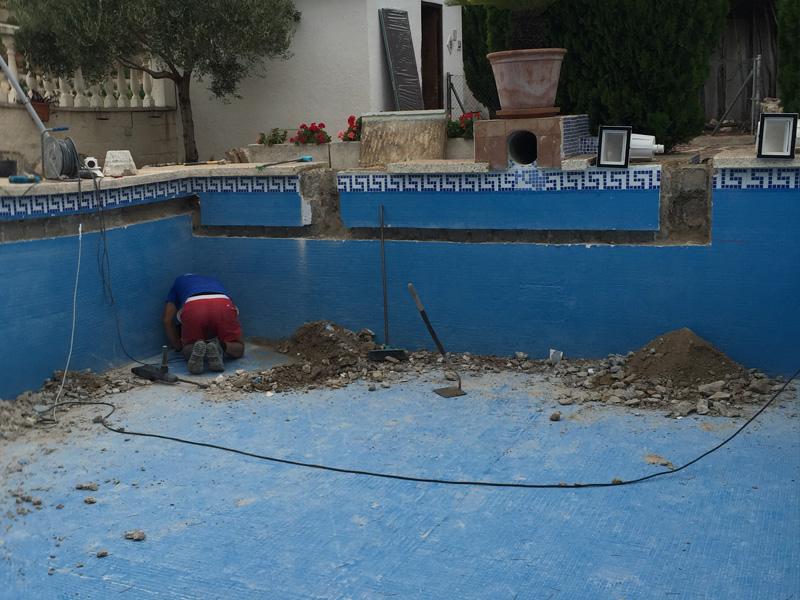 Rehabilitaci n de piscinas en gandia playa gandia y oliva - Camping en oliva con piscina ...